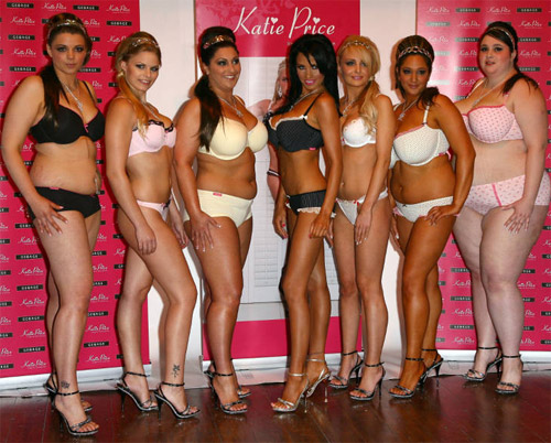 I love this photo because these are real women s bodies looking great in  lingerie. 7bc7e963f