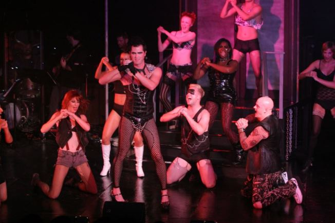 The Cast of last summer's Rocky Horror Show at the Firehouse Theatre Project in Richmond, Va.