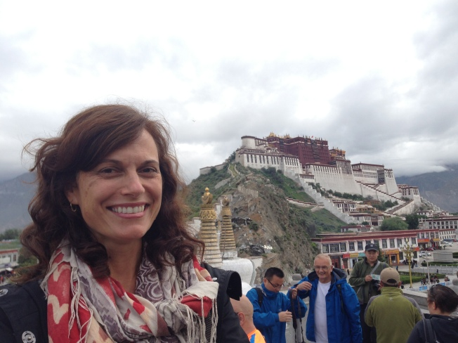 Me in Lhasa, Tibet on a summer sojourn.