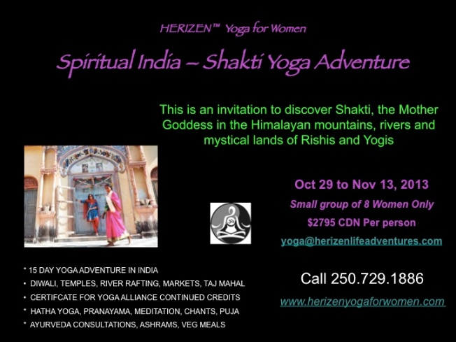 HERIZEN INDIA SPIRITUAL YOGA ADVENTURE